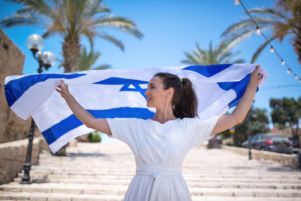 Флаг Израиля IVRIKARU