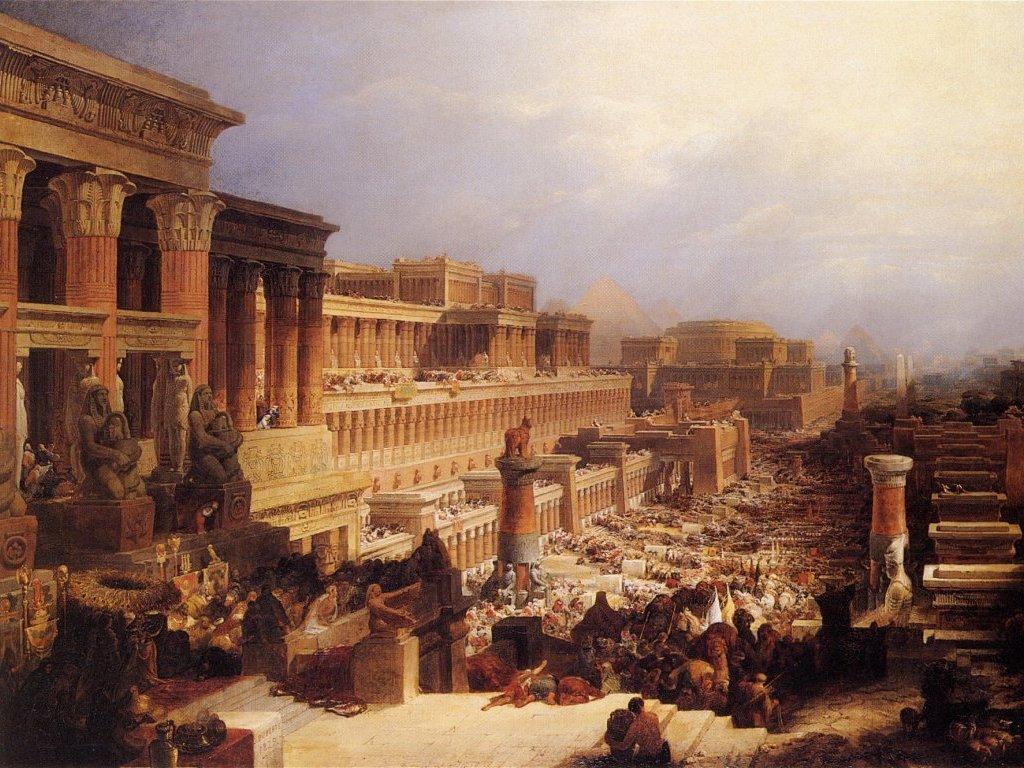 выход евреев из египта праздник